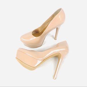 NEW! Jessica Simpson blush nude platform heels